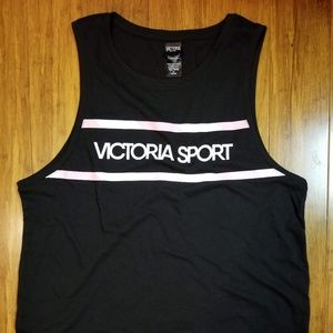 Victoria's Secret Tops - Victoria's Secret Sport slit tank